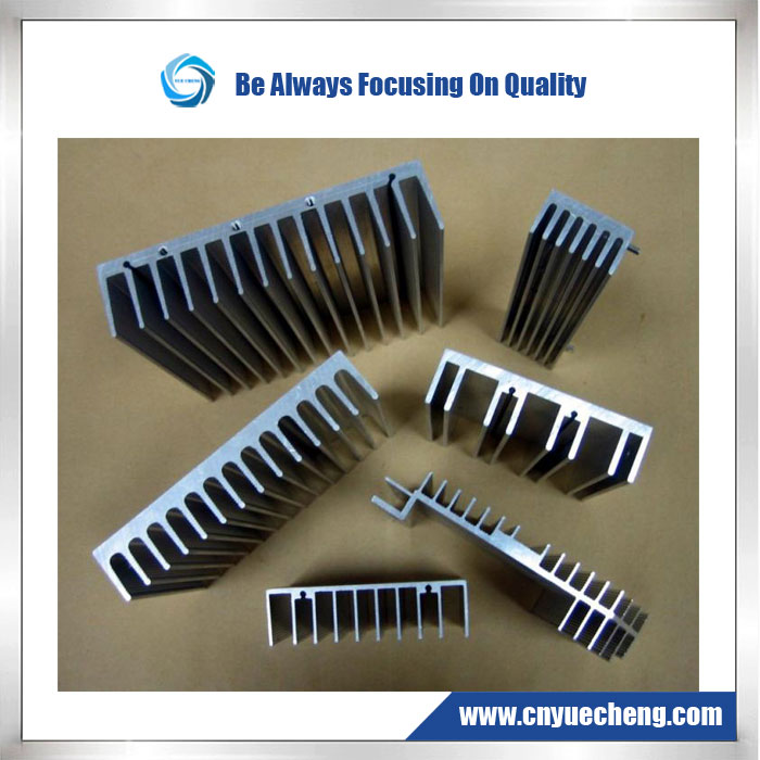 Aluminum Extrusion -- Led Street Lamp Heatsink